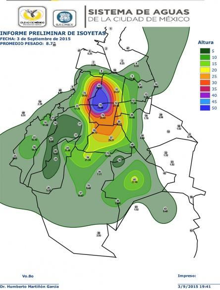 mapa inundacion